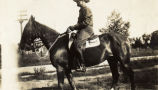 Soldier on horseback, circa 1928-1931, Fort Oglethorpe, Georgia 6