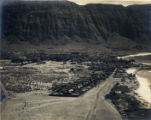 Kalaupapa Leper Colony and airfield, Molokai, Hawaii, 1931 aerial shot 2