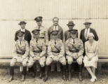 Army Air Force officers and enlisted soldier and civilians, Hawaii, 1930s