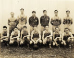 65th Service Squadron basketball team, Luke Field, Hawaii, 1933