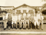 Engineering Section staff, Hawaiian Air Depot, Luke Field Army Air Base, Hawaii, May 1935