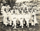 Medical Department personnel, U.S. Fleet Base, Pearl Harbor, Hawaii, 1937