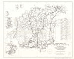 Calhoun County, Alabama General Highway Map 1965