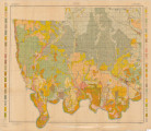 Autauga County, Alabama Soil Map 1908
