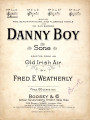 Danny boy : song [with audio link]
