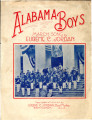 Alabama boys : March song
