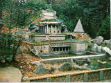 Hanging Gardens of Babylon and Pyramid, Ave Maria Grotto, Cullman, Alabama 1