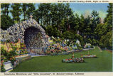 Ave Maria Grotto looking south, Cullman, Alabama