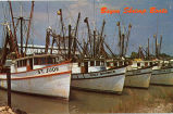 Bayou Shrimp Boats, Gulf Coast, Alabama