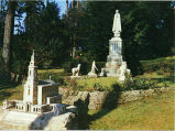 Our Lady of Fatima Group, Ave Maria Grotto, Cullman, Alabama 1