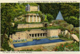 Hanging Gardens of Babylon and Pyramid, Ave Maria Grotto, Cullman, Alabama 2