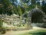 General View of Ave Maria Grotto, Cullman, Alabama