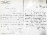 1881-06-02: Sage, Margaret Olivia Slocum, to Edwin D. Morgan; 1881-04-04: Sage, Russell, to Edwin...