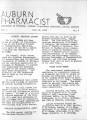 1939-06-15: Auburn Pharmacist Newsletter, Auburn, Alabama, Volume 01, Issue 03