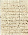 Letter from Sarah Tait, Claiborne, Alabama, to Caroline Tait, Black's Bluff, Alabama, 1835-10-13