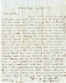 Letter from James Goode Tait, Black's Bluff, Alabama, to Charles William Tait, Columbus, Texas,...