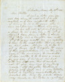 Letter from Charles William Tait, Columbus, Texas, to Robert Tait, Camden, Alabama, 1854-05-14
