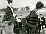 "1949: Gov. ""Big Jim"" Folsom inaugurates Dr. Draughon as API President"