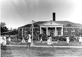 1940s: May Day celebration at the Quad