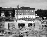 1950: Thach Hall under construction