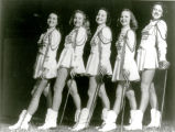 1946: First drum majorettes