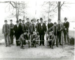 1901: Civil engineering class