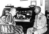 1940s: Treasurer Allie Glenn and Maj. Gen. Franklin A. Hart