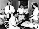 1938: Dr. Cecil S. Yarbrough at clinic