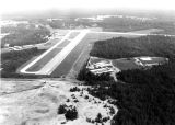 1990s: Main runway at Auburn-Opelika Airport