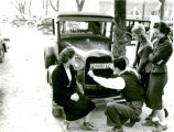 1938: First car registered on campus