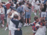 "1991: WEGL celebrates 20 years of broadcasting with a ""kiss-a-thon"""