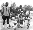 1969: Members of last Drake High School football team
