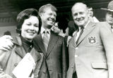 1970: Pres. Philpott hosts then-Gov. Jimmy Carter and Mrs. Rosalynn Carter