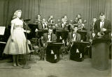 1959: Toni Tennille sings with the Auburn Knights
