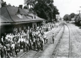 1942: Waiting at the Depot