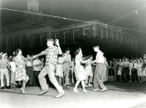 1945: Street dance at Ross Square