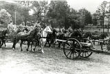 1930s: Horse-drawn artillery at API