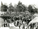 1938: Post-Orange Bowl celebration at Toomer's Corner