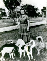 1960s: Ms. Eleanor Ritchey, AU benefactrice, and dogs