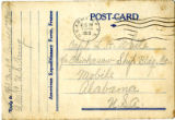 Postcard from Paul C. Arnold to Leonard H. White, August 15, 1919, Brest, France